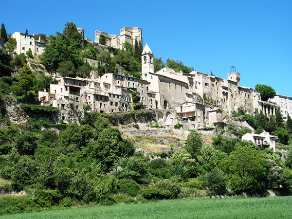 montbrun les bains baronnies self guided walking provence